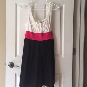 XOXO Black, White & Pink dress, Sz 11